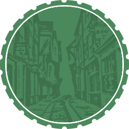 Green Badge Background